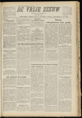 de Vrije Zeeuw 1948-11-30