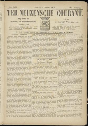 Ter Neuzensche Courant. Algemeen Nieuws- en Advertentieblad voor Zeeuwsch-Vlaanderen / Neuzensche Courant ... (idem) / (Algemeen) nieuws en advertentieblad voor Zeeuwsch-Vlaanderen 1879-01-04