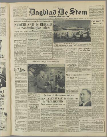 de Stem 1951-08-22