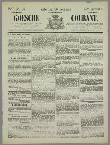 Goessche Courant 1887-02-26