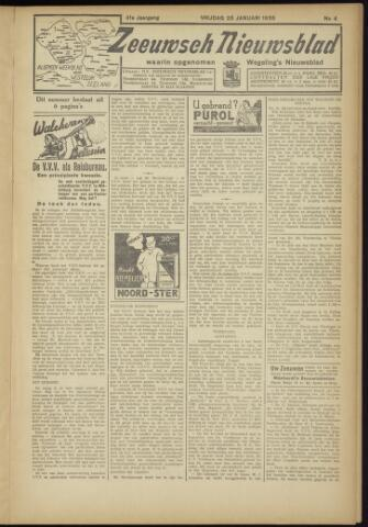 Zeeuwsch Nieuwsblad/Wegeling's Nieuwsblad 1935-01-25