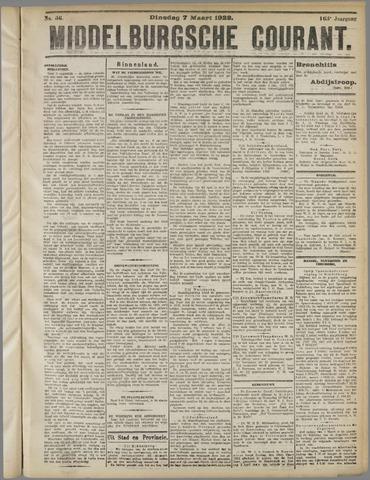 Middelburgsche Courant 1922-03-07