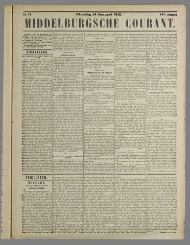 Middelburgsche Courant 1919-01-14