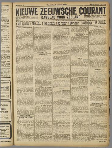 Nieuwe Zeeuwsche Courant 1923-01-11
