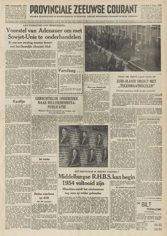 Provinciale Zeeuwse Courant 1953-09-05