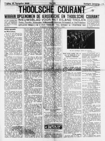 Ierseksche en Thoolsche Courant 1943-11-12