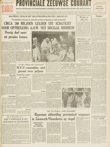 Provinciale Zeeuwse Courant 1964-05-23