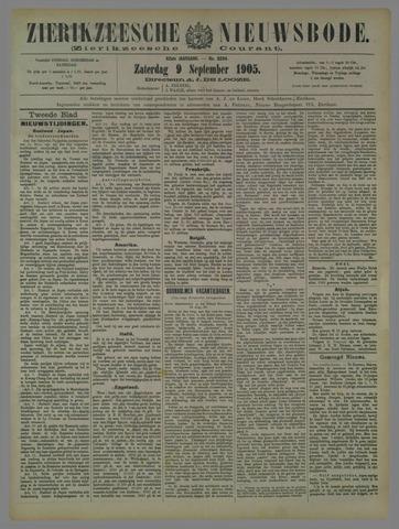 Zierikzeesche Nieuwsbode 1905-09-09