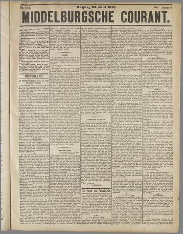 Middelburgsche Courant 1921-06-24