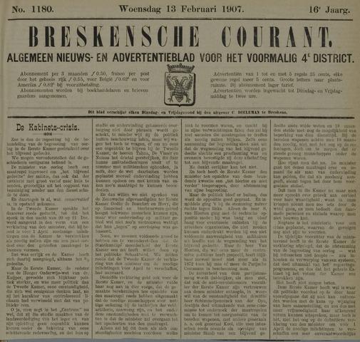 Breskensche Courant 1907-02-13