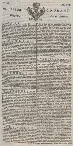 Middelburgsche Courant 1778-08-11