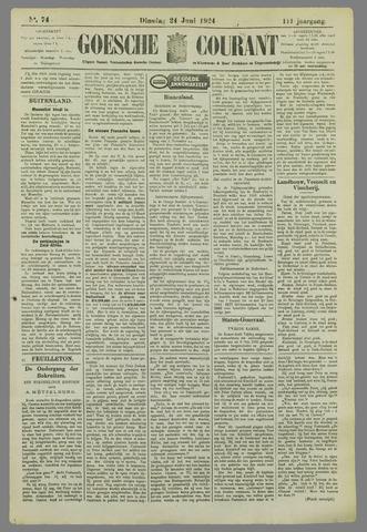 Goessche Courant 1924-06-24