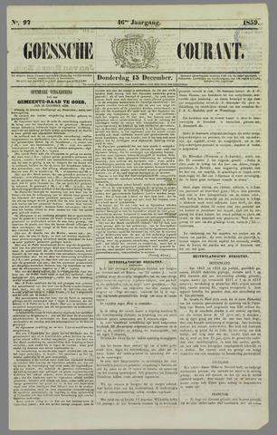 Goessche Courant 1859-12-15