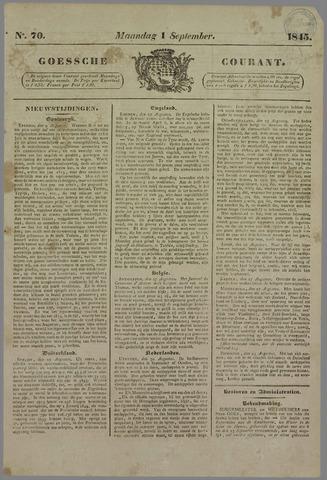 Goessche Courant 1845-09-01