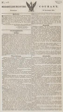 Middelburgsche Courant 1834-09-25