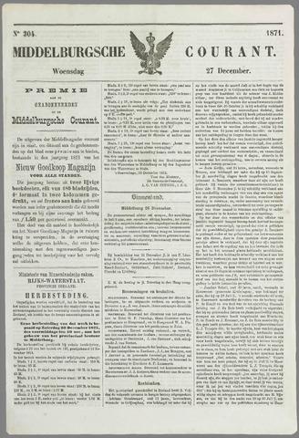 Middelburgsche Courant 1871-12-27