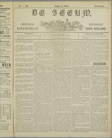 De Zeeuw. Christelijk-historisch nieuwsblad voor Zeeland 1896-10-10