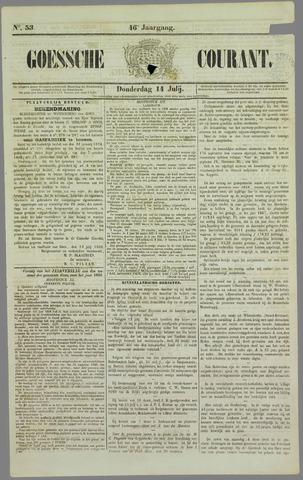 Goessche Courant 1859-07-14