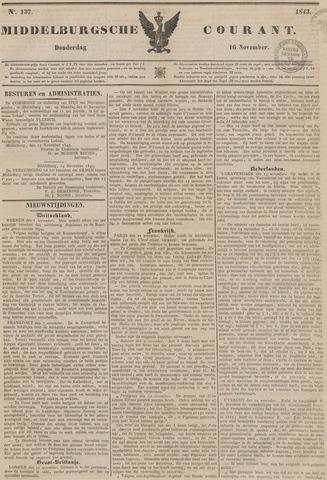 Middelburgsche Courant 1843-11-16