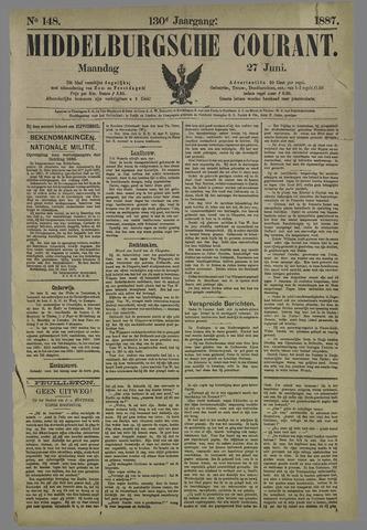 Middelburgsche Courant 1887-06-27