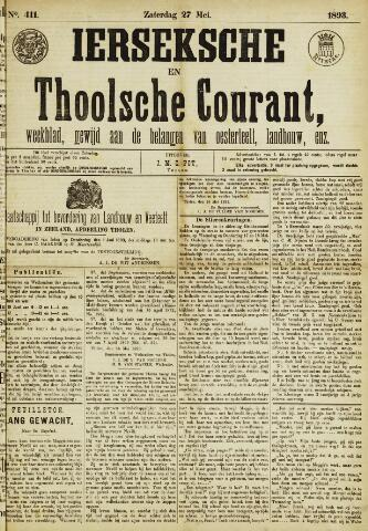 Ierseksche en Thoolsche Courant 1893-05-27