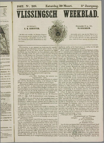 Vlissings Weekblad 1867-03-30