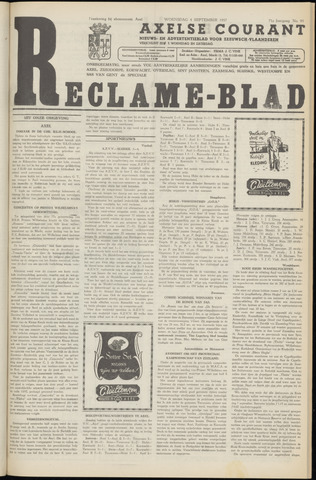 Axelsche Courant 1957-09-04