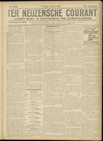 Ter Neuzensche Courant. Algemeen Nieuws- en Advertentieblad voor Zeeuwsch-Vlaanderen / Neuzensche Courant ... (idem) / (Algemeen) nieuws en advertentieblad voor Zeeuwsch-Vlaanderen 1927-05-13