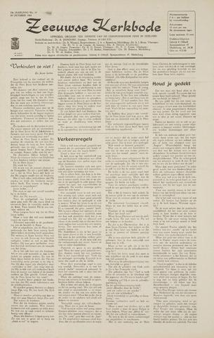Zeeuwsche kerkbode, weekblad gewijd aan de belangen der gereformeerde kerken/ Zeeuwsch kerkblad 1968-10-10