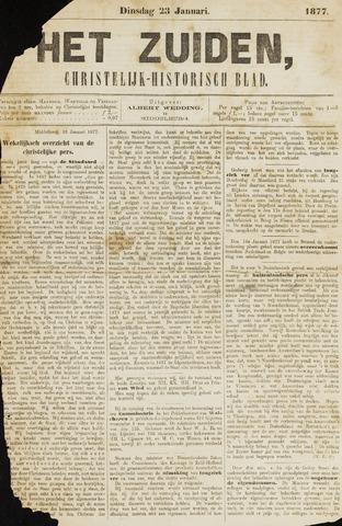 Het Zuiden, Christelijk-historisch blad 1877-01-23