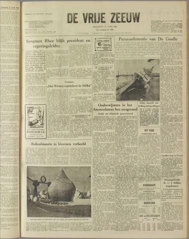 de Vrije Zeeuw 1960-04-25