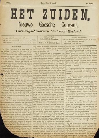 Het Zuiden, Christelijk-historisch blad 1885-06-27