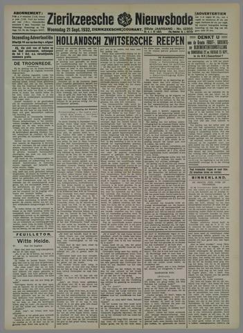 Zierikzeesche Nieuwsbode 1932-09-21