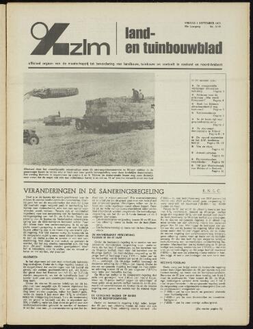 Zeeuwsch landbouwblad ... ZLM land- en tuinbouwblad 1972-09-01