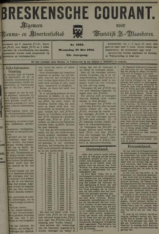 Breskensche Courant 1914-05-27
