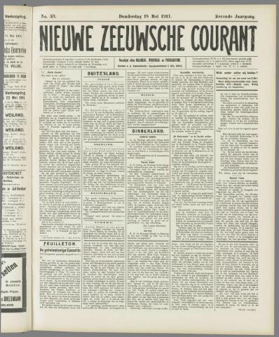 Nieuwe Zeeuwsche Courant 1911-05-18