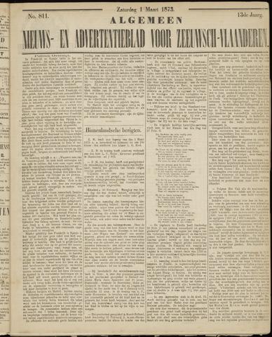 Ter Neuzensche Courant. Algemeen Nieuws- en Advertentieblad voor Zeeuwsch-Vlaanderen / Neuzensche Courant ... (idem) / (Algemeen) nieuws en advertentieblad voor Zeeuwsch-Vlaanderen 1873-03-01