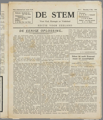 de Stem 1944-12-04