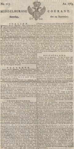 Middelburgsche Courant 1763-09-24