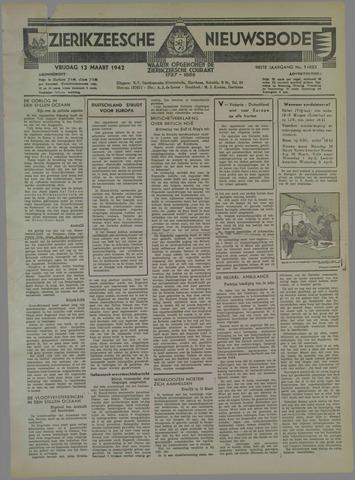 Zierikzeesche Nieuwsbode 1942-03-13