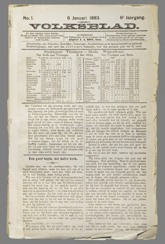 Volksblad 1883