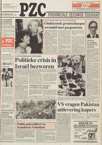 Provinciale Zeeuwse Courant 1986-09-08