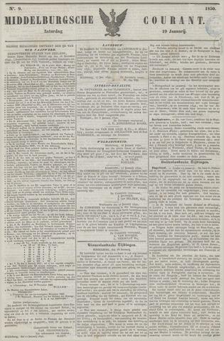 Middelburgsche Courant 1850-01-19
