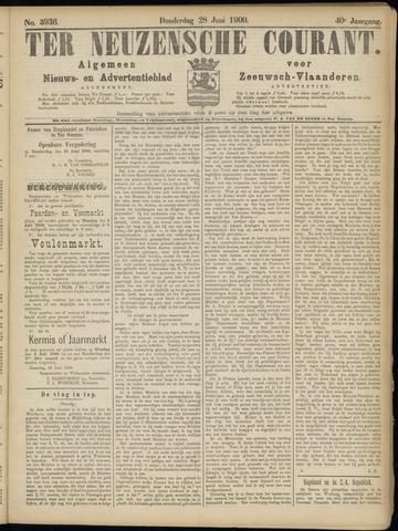 Ter Neuzensche Courant. Algemeen Nieuws- en Advertentieblad voor Zeeuwsch-Vlaanderen / Neuzensche Courant ... (idem) / (Algemeen) nieuws en advertentieblad voor Zeeuwsch-Vlaanderen 1900-06-28