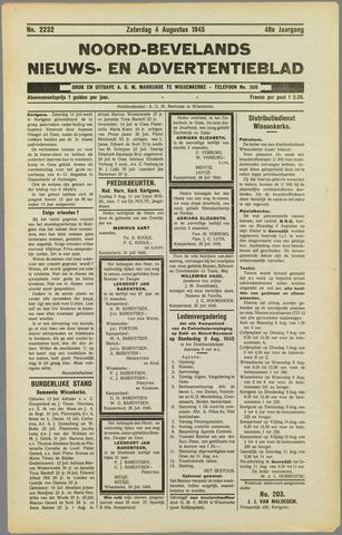 Noord-Bevelands Nieuws- en advertentieblad 1945-08-11