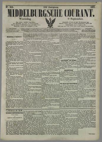 Middelburgsche Courant 1891-09-09