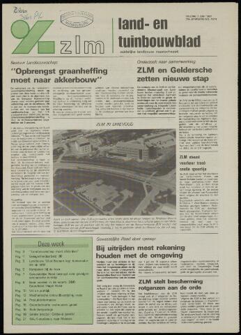 Zeeuwsch landbouwblad ... ZLM land- en tuinbouwblad 1991-06-07