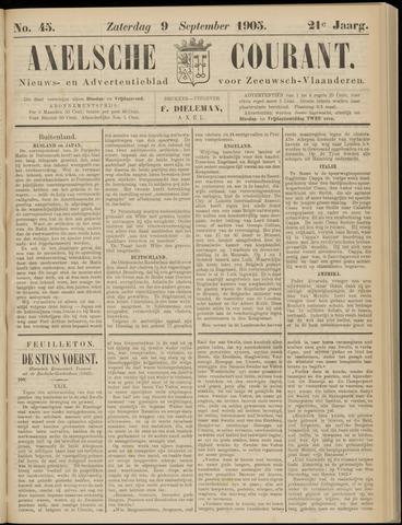 Axelsche Courant 1905-09-09