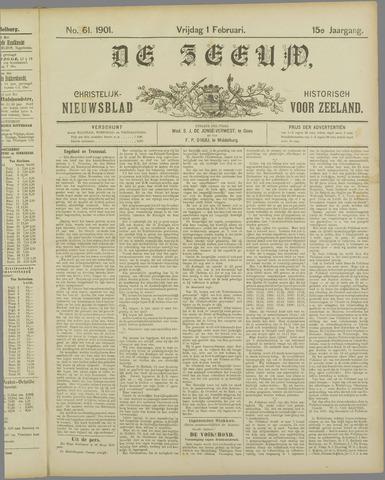 De Zeeuw. Christelijk-historisch nieuwsblad voor Zeeland 1901-02-01