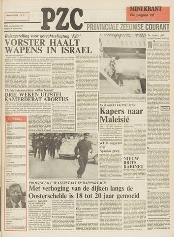 Provinciale Zeeuwse Courant 1976-04-09